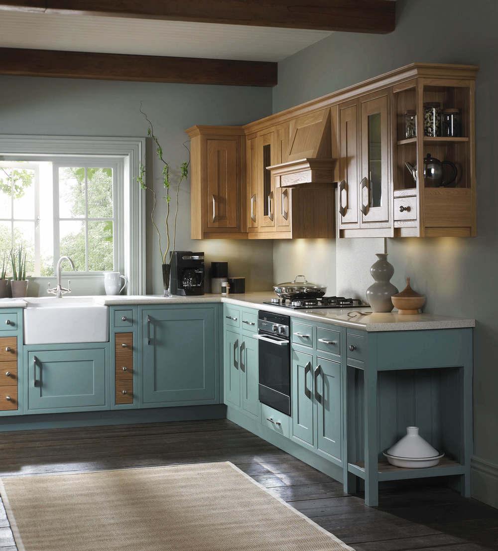 Light Industrial Units Hampshire: Handmade Oak Kitchens - Showroom In Hampshire