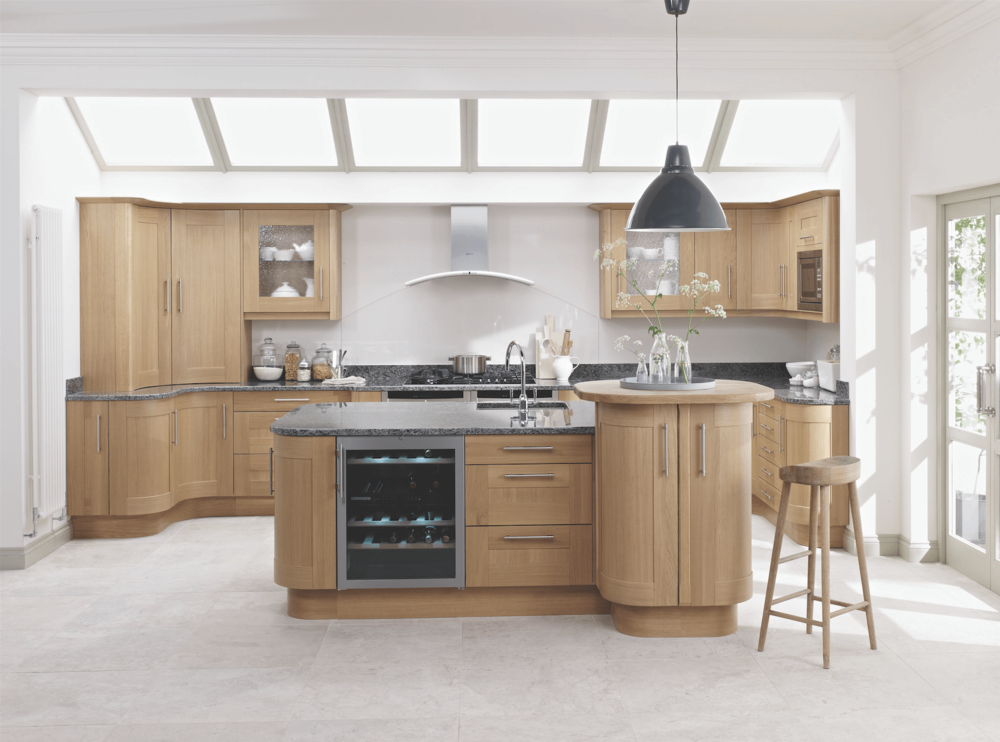 Handmade Oak Kitchens Showroom In Hampshire Deane